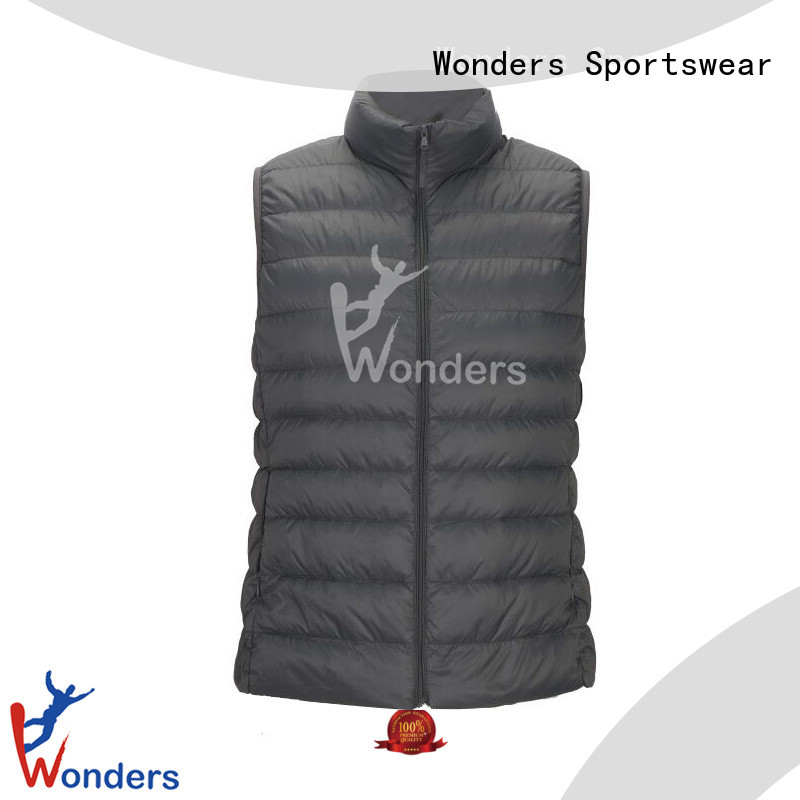 Wonders low-cost colorful mens vests with good price for winte