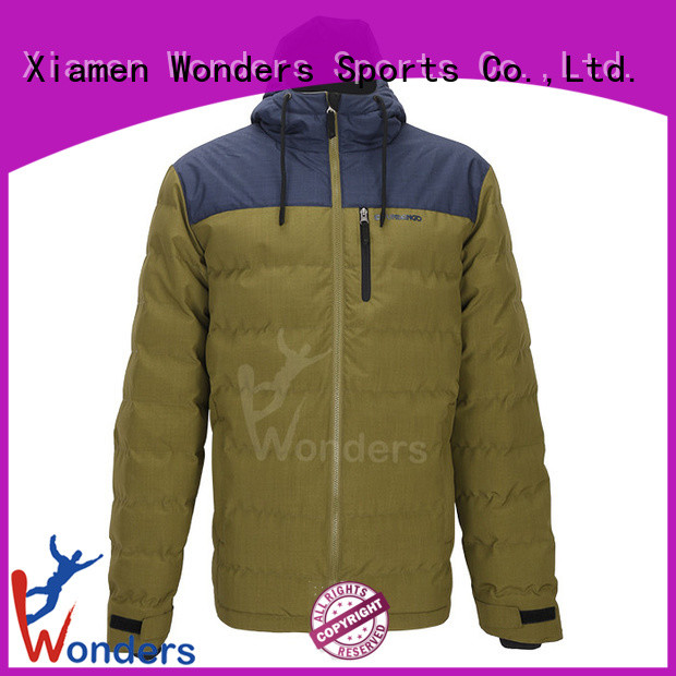 cheap black padded jacket suppliers for promotion