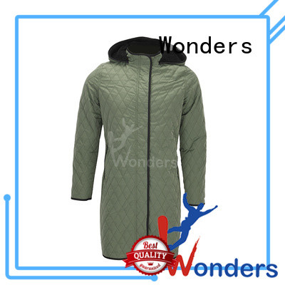 Wonders hot selling womens lightweight parkas supplier for outdoor