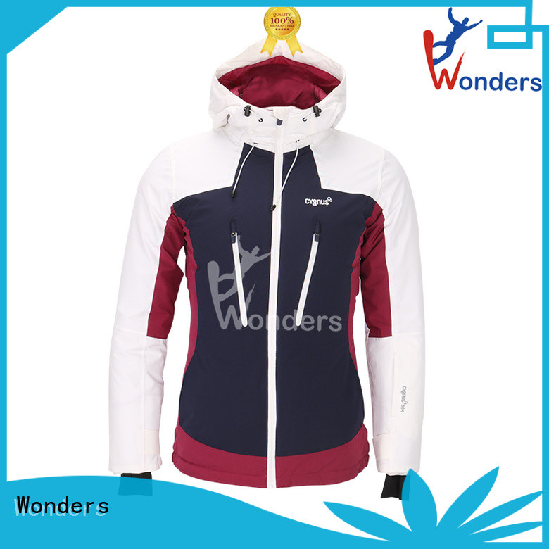 Wonders womens fitted ski jackets design to keep warming