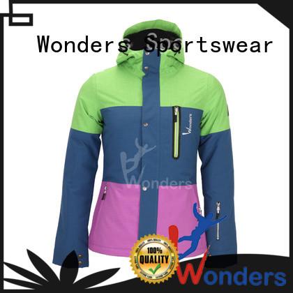 Wonders hot selling boys ski jacket supply for winte