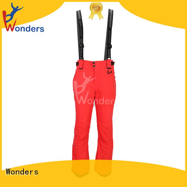 Wonders promotional stretch ski pants wholesale for promotion