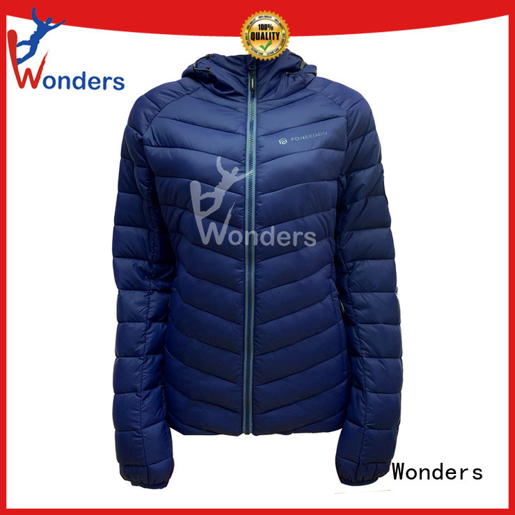 Wonders womens padded jacket factory for sale