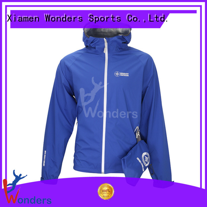 Wonders top quality rains waterproof jacket best manufacturer for outdoor