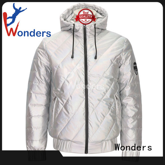 Wonders factory price thin padded jacket factory for winte