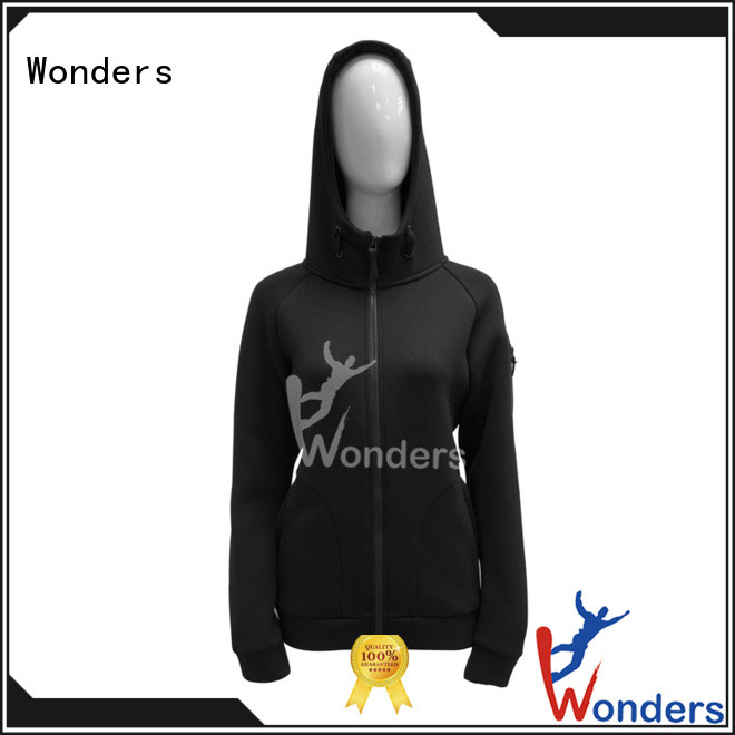 Wonders cheap cotton zip up hoodie wholesale for promotion
