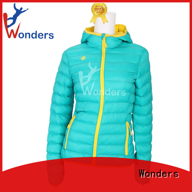 Wonders top selling padded jacket sale supply bulk production
