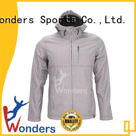 Wonders lightweight softshell jacket series bulk production