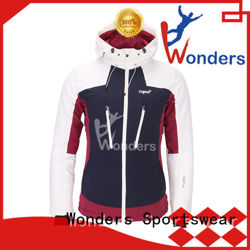 Wonders reliable insulated ski jacket factory for sports