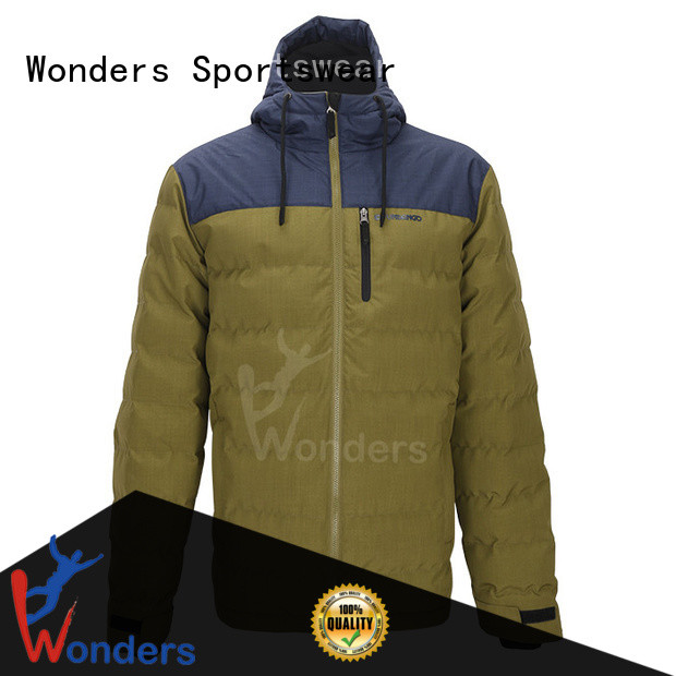 promotional fitted padded jacket supply for sale