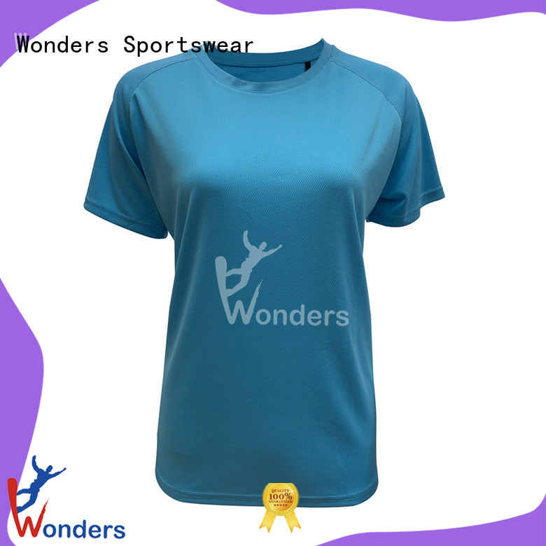 Wonders ladies running t shirts best supplier for promotion