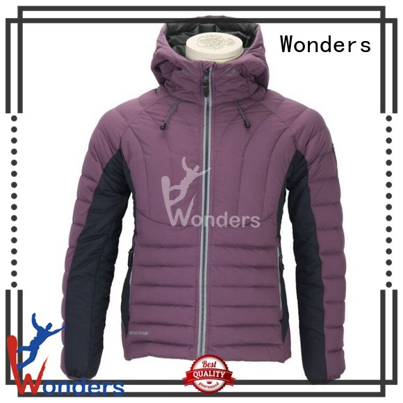 cheap down insulated jacket supply for winte