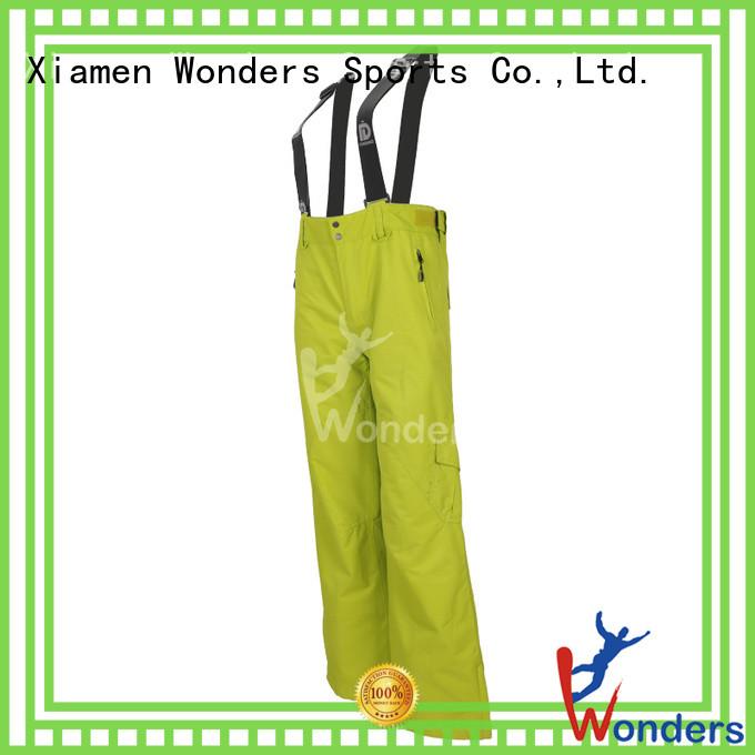 Wonders snow ski pants mens company for promotion