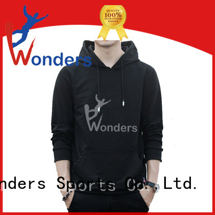 Wonders hoodies for men pullover suppliers for promotion