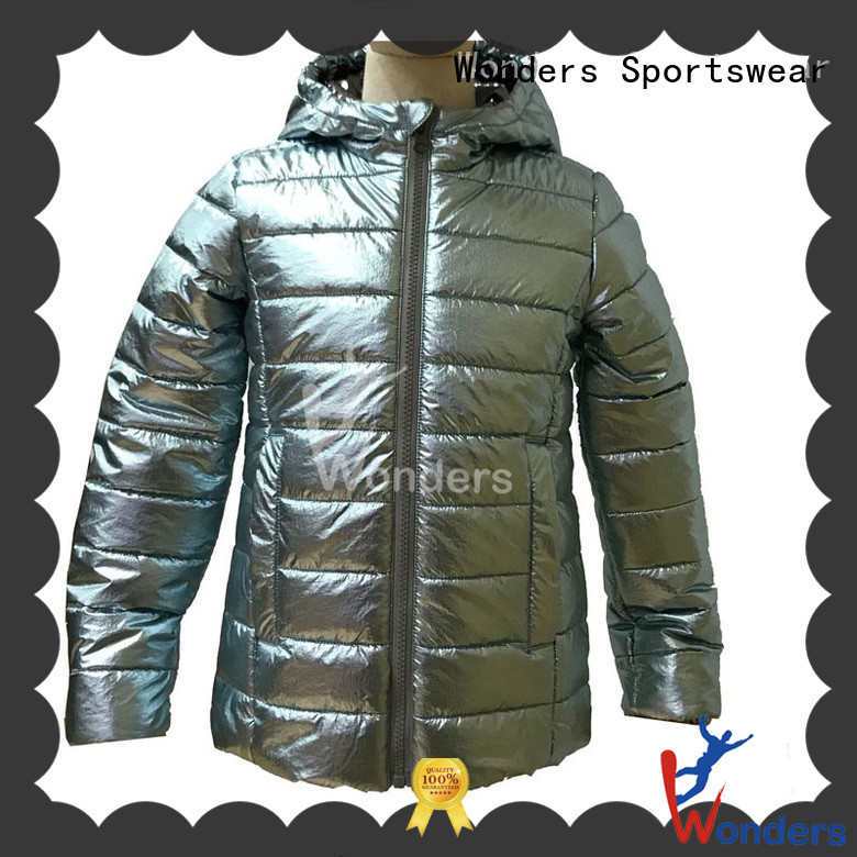 Wonders fitted padded puffer jacket supplier bulk production