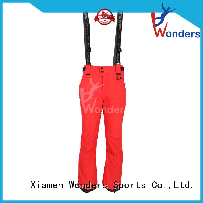 Wonders insulated ski pants best supplier bulk production