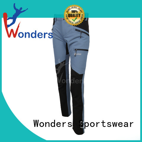 Wonders high quality mens outdoor pants supply for winte