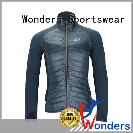 Wonders factory price hybrid insulated jacket company for winte
