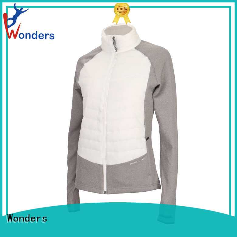 Wonders best value hybrid jacket from China for outdoor
