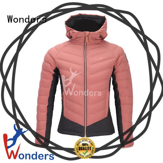 Wonders high quality duck down jacket directly sale for sports