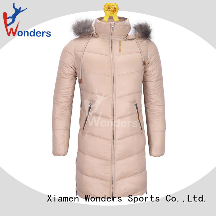 Wonders ladies parka jacket from China for winte