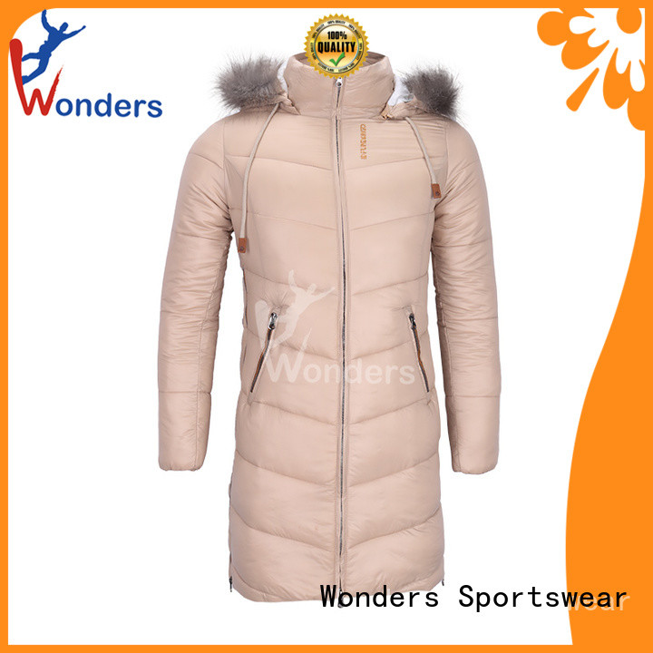 Wonders ladies lightweight parka jackets factory for sale