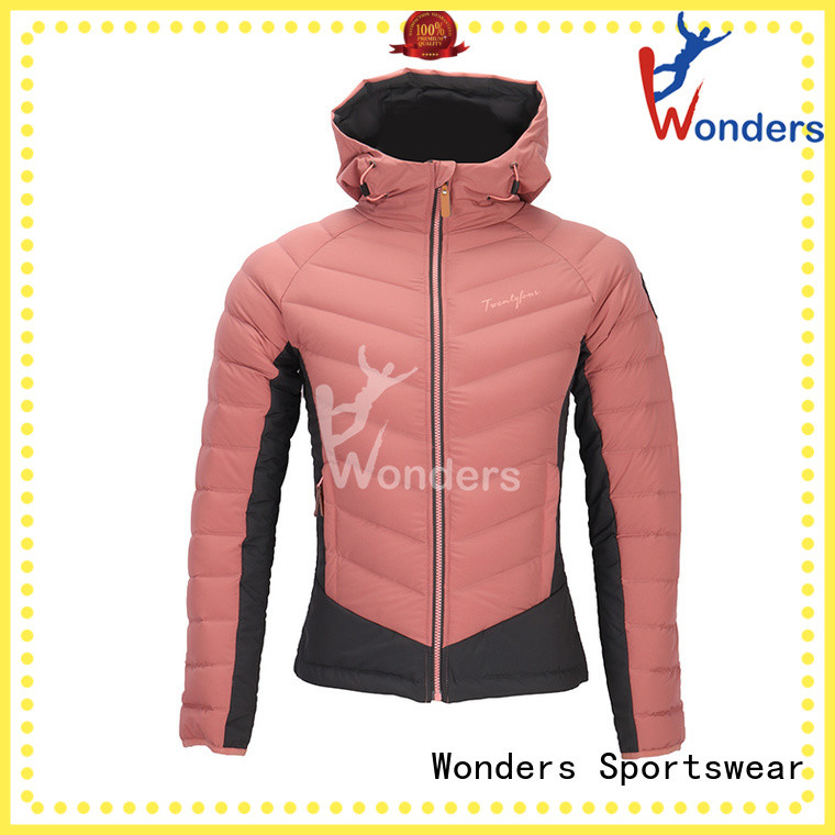Wonders down insulated jacket factory for sale
